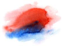 Αφηρημένο συρμένο χέρι υπόβαθρο watercolor Στοκ εικόνες με δικαίωμα ελεύθερης χρήσης