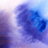 Αφηρημένο συρμένο χέρι υπόβαθρο watercolor Στοκ Εικόνες