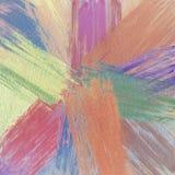 Αφηρημένο συρμένο χέρι χρωματισμένο έργο τέχνης κτυπημάτων βουρτσών μελανιού Παχιά σύσταση ελαιοχρωμάτων Αγαθό για τα υπόβαθρα, έ απεικόνιση αποθεμάτων