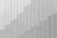 Αφηρημένο σχέδιο αρχιτεκτονικής Γκρίζο και άσπρο odern οικοδόμησης υπόβαθρο πόλεων σύστασης τοίχων αφηρημένο στοκ φωτογραφίες