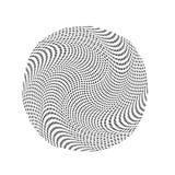Αφηρημένο σχέδιο λογότυπων κύκλων, ημίτοή σύσταση σχεδίων Διανυσματικό σύγχρονο φουτουριστικό υπόβαθρο για τις αφίσες, επαγγελματ Στοκ φωτογραφία με δικαίωμα ελεύθερης χρήσης