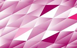 Αφηρημένο σχέδιο των πορφυρών τριγώνων Στοκ Εικόνες