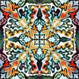 Αφηρημένο σχέδιο χρώματος στην ποιοτική διανυσματική απεικόνιση ύφους γκράφιτι για το σχέδιό σας Στοκ Εικόνες