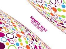 αφηρημένο σχέδιο χρώματος dot Στοκ φωτογραφία με δικαίωμα ελεύθερης χρήσης