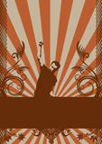 αφηρημένο σχέδιο grunge Στοκ εικόνα με δικαίωμα ελεύθερης χρήσης
