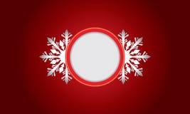 Αφηρημένο σχέδιο με snowflake και διάστημα για το κείμενο Στοκ φωτογραφίες με δικαίωμα ελεύθερης χρήσης