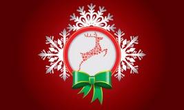Αφηρημένο σχέδιο με snowflake και διάστημα για το κείμενο Στοκ φωτογραφία με δικαίωμα ελεύθερης χρήσης