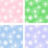 Αφηρημένο σχέδιο λουλουδιών απεικόνιση αποθεμάτων