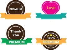 Αφηρημένο σχέδιο συμβόλων αγάπης Απεικόνιση αποθεμάτων