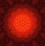 Αφηρημένο σχέδιο σχεδίου Mandala Στοκ Εικόνες