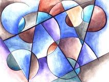 Αφηρημένο σχέδιο τέχνης Διανυσματική απεικόνιση