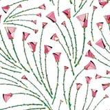 Αφηρημένο σχέδιο τριαντάφυλλων floral άνευ ραφής ανασκόπησης Τυποποιημένο σχέδιο λουλουδιών για το κλωστοϋφαντουργικό προϊόν, τύλ Στοκ φωτογραφίες με δικαίωμα ελεύθερης χρήσης