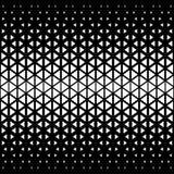 Αφηρημένο σχέδιο τριγώνων πολυγώνων γραπτό γραφικό Στοκ Φωτογραφίες