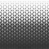 Αφηρημένο σχέδιο τριγώνων πολυγώνων μαύρο και κυανό γραφικό Στοκ Εικόνες