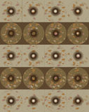 Αφηρημένο σχέδιο υποβάθρου με τους κύκλους στοκ εικόνα με δικαίωμα ελεύθερης χρήσης