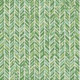 Αφηρημένο σχέδιο ψαροκόκκαλων σε πράσινο Στοκ Εικόνες