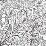 Αφηρημένο σχέδιο doodle Στοκ φωτογραφία με δικαίωμα ελεύθερης χρήσης