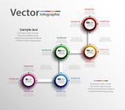 Αφηρημένο σχέδιο Infographic για την επιχείρησή σας Στοκ Εικόνες
