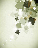 Αφηρημένο σχεδίου φυλλάδιων υπόβαθρο στοιχείων πολυγώνων φυλλάδιων γεωμετρικό Στοκ Εικόνες