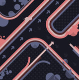 αφηρημένο σχεδιάγραμμα σχ&e Στοκ Εικόνες