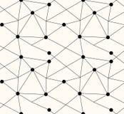 Αφηρημένο σύγχρονο απλό άνευ ραφής σχέδιο τριγώνων Στοκ φωτογραφίες με δικαίωμα ελεύθερης χρήσης