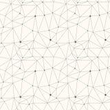 Αφηρημένο σύγχρονο διανυσματικό απλό άνευ ραφής σχέδιο τριγώνων Στοκ φωτογραφία με δικαίωμα ελεύθερης χρήσης