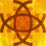 Αφηρημένο σύμβολο Grunge Στοκ εικόνα με δικαίωμα ελεύθερης χρήσης