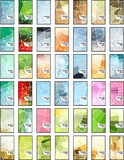 αφηρημένο σύνολο μωσαϊκών &epsil απεικόνιση αποθεμάτων