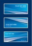 Αφηρημένο σύνολο καρτών Στοκ Εικόνα