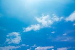 Αφηρημένο σύνολο χρώματος ουρανού, σύννεφα με το υπόβαθρο Στοκ Εικόνα