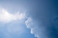 Αφηρημένο σύνολο χρώματος ουρανού, σύννεφα με το υπόβαθρο Στοκ φωτογραφία με δικαίωμα ελεύθερης χρήσης