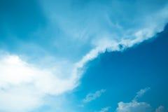 Αφηρημένο σύνολο χρώματος ουρανού, σύννεφα με το υπόβαθρο Στοκ Φωτογραφία