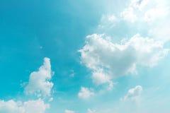 Αφηρημένο σύνολο χρώματος ουρανού, σύννεφα με το υπόβαθρο Στοκ φωτογραφίες με δικαίωμα ελεύθερης χρήσης
