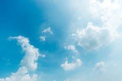 Αφηρημένο σύνολο χρώματος ουρανού, σύννεφα με το υπόβαθρο Στοκ εικόνες με δικαίωμα ελεύθερης χρήσης