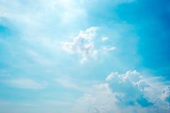 Αφηρημένο σύνολο χρώματος ουρανού, σύννεφα με το υπόβαθρο Στοκ Φωτογραφίες