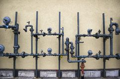 αφηρημένο σύστημα σωλήνων α& Στοκ Εικόνες