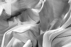 αφηρημένο τεμάχιο αρχιτεκ Στοκ εικόνα με δικαίωμα ελεύθερης χρήσης