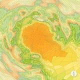 αφηρημένο τοπίο ανασκόπησης μωσαϊκό Στοκ φωτογραφία με δικαίωμα ελεύθερης χρήσης