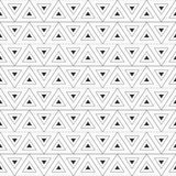 αφηρημένο τρίγωνο ανασκόπη&si Επανάληψη των γεωμετρικών κεραμιδιών Στοκ Εικόνες