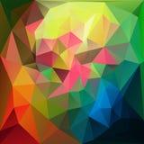 αφηρημένο τρίγωνο ανασκόπη&si διάνυσμα απεικόνιση αποθεμάτων