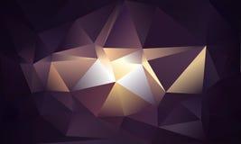 αφηρημένο τρίγωνο ανασκόπη&si Στοκ Εικόνα