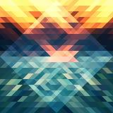Αφηρημένο τρίγωνο bg30 Στοκ Εικόνες