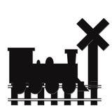 αφηρημένο τραίνο ελεύθερη απεικόνιση δικαιώματος