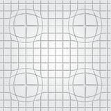 Αφηρημένο τρισδιάστατο άνευ ραφής σχέδιο σχεδίων Στοκ Φωτογραφίες