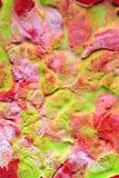 Αφηρημένο υγρό χρώμα Στοκ Φωτογραφίες