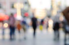 Αφηρημένο υπόβαθρο ανθρώπων θαμπάδων Στοκ Εικόνες