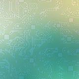 Αφηρημένο υπόβαθρο απεικόνισης μητρικών καρτών τεχνολογίας Στοκ Εικόνες