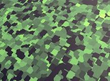 Αφηρημένο υπόβαθρο απεικόνισης, πράσινο, κάλυψη, τρισδιάστατη απόδοση διανυσματική απεικόνιση