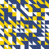 Αφηρημένο υπόβαθρο από πολύχρωμο γεωμετρικό Στοκ Εικόνα