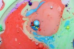 Αφηρημένο υπόβαθρο από τα ακρυλικά χρώματα στοκ εικόνες